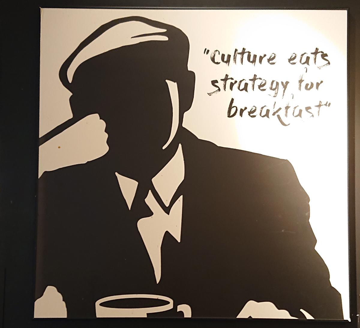 Kultur äter strategi till frukost